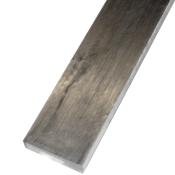 Fladt blankt stål