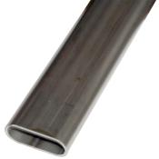 Fladovale stålrør