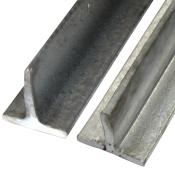 T-stål, sort og galvaniseret