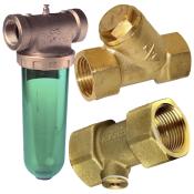 Kontraventiler, snavssamlere og vandfiltre