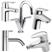Håndvask-, bidét- og urinalarmaturer