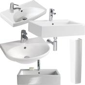 Håndvaske og søjler